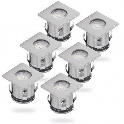 Mia LED mark/altanspot 6p 12V