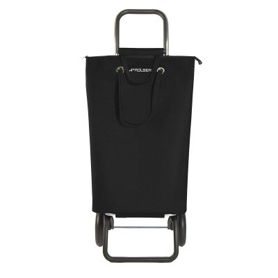 SHOPPINGVAGN ROLSER RG LOGIC SUPERBAG SVART