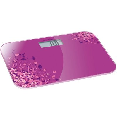 Digital personvåg ELECTRONIC SCALE (Val: Rosa)